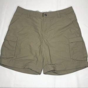 REI Hiking Outdoor Adventure Cargo Shorts Size 12P